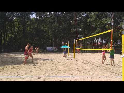 II Otwarte Mistrzostwa Śląska W Siatkówce Plażowej Na Kąpielisku Leśne Zacisze W Knurowie