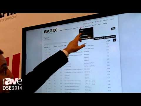 DSE 2014: Barix Talks SoundScape Audio Distribution System Over IP Network
