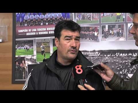 Rafael Escobar en previa Balona-Marbella (19-12-14)
