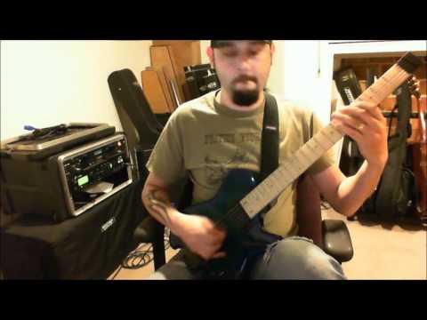 Boston - Foreplay / Long Time guitar rhythms&solos + Carvin HH2X headless guitar