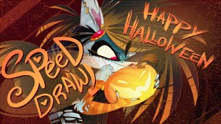 SPEED DRAW- HAPPY HALLOWEEN- VivziePop