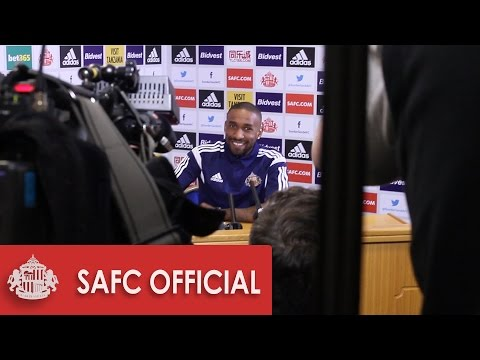 Behind the scenes: Jermaine Defoe press conference