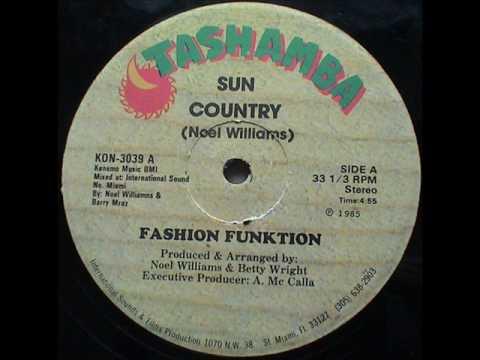 Fashion Funktion - Sun Country (Tashamba-Konduko-1985)