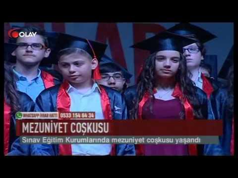 Sınav Eğitim Kurumlarında mezuniyet coşkusu (Haber 15 05 2017)