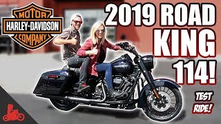 2019 Harley-Davidson Road King Special 114 TEST RIDE!