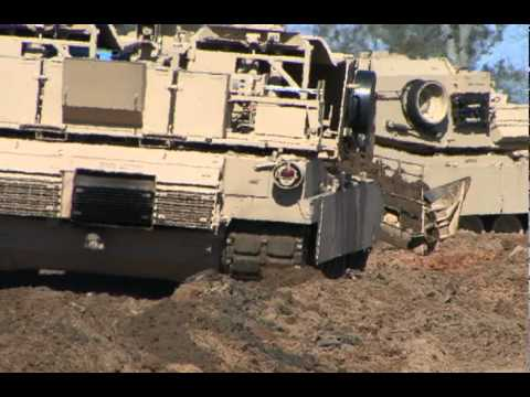 Assault Breacher Vehicle (ABV) rolls out at Fort Benning