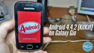 Android 4.4.2(KitKat) on Galaxy Gio CM 11