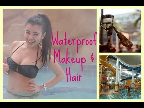 Getting Ready For Summer 2013 Waterproof Makeup & Hair Tutorial