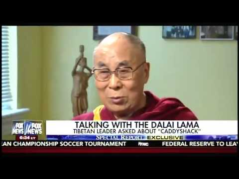 Bret Baier Asks the Dalai Lama If He Has Ever Seen 'Caddyshack'