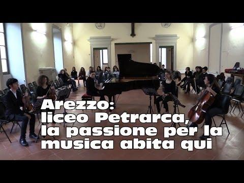 """""""Viaggio nelle scuole"""" - Arezzo, liceo Petrarca: la passione per la musica abita qui"""