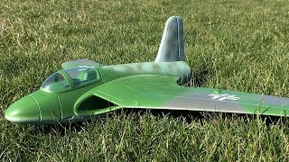 Freewing Lippisch P.15 64mm EDF Jet Maiden Flight