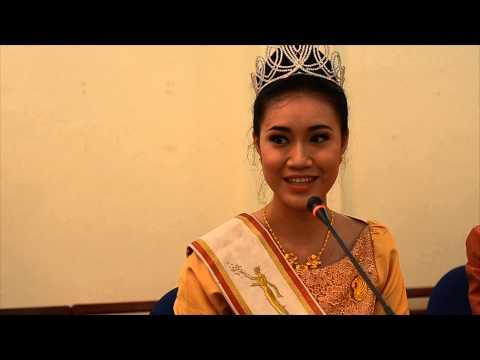 Miss Laos aims to improve dental health
