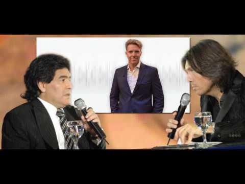 Diego Maradona caliente con Marcelo Tinelli