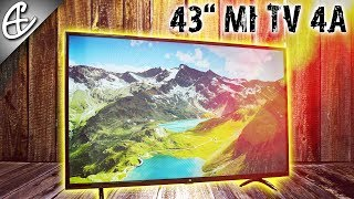 Xiaomi Mi TV 4A 43 inch Smart LED TV Unboxing & Overview