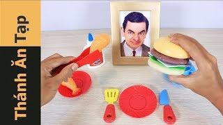 Thánh Ăn Bánh HAMBURGER Đồ Chơi - Ăn Đồ Chơi Trẻ Em - Thánh Ăn Tạp #7