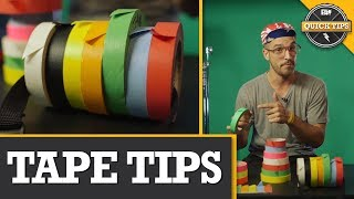 Quick Tips: Use Tape like a Pro On-Set
