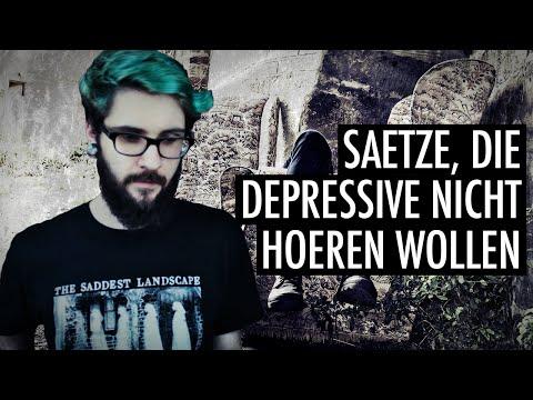 Sätze, die Menschen mit Depression NICHT hören wollen! | Andre Teilzeit