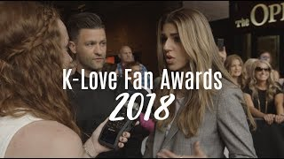 Interviewing John Crist, Hillsong Worship, & More! | K-LOVE Fan Awards 2018
