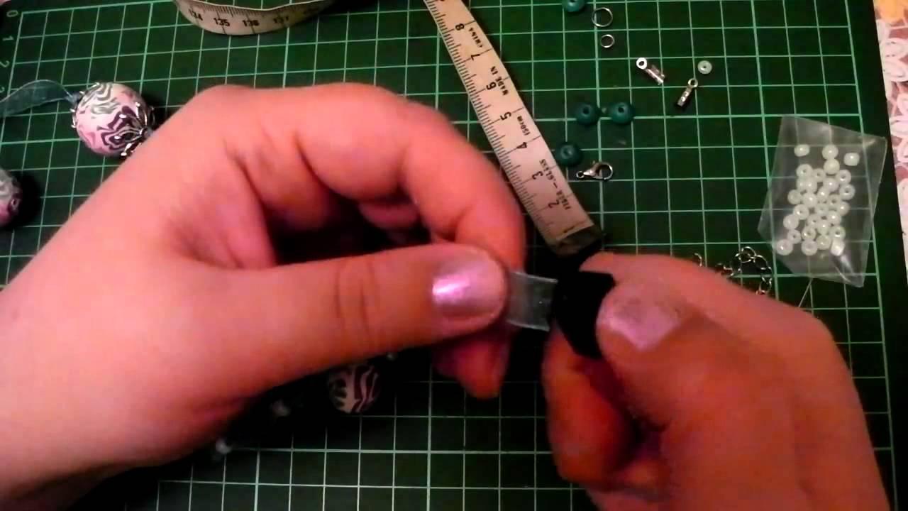 Изготовление бижутерии своими руками мастер класс видео