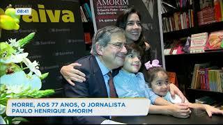 Paulo Henrique Amorim flagrou repórter o imitando na redação