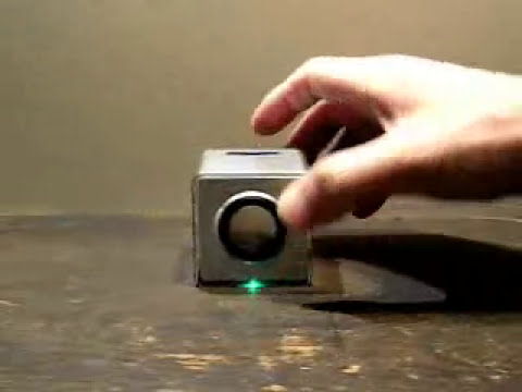 Motion Controlled MP3 Player  - Featured on Hacked Gadgets