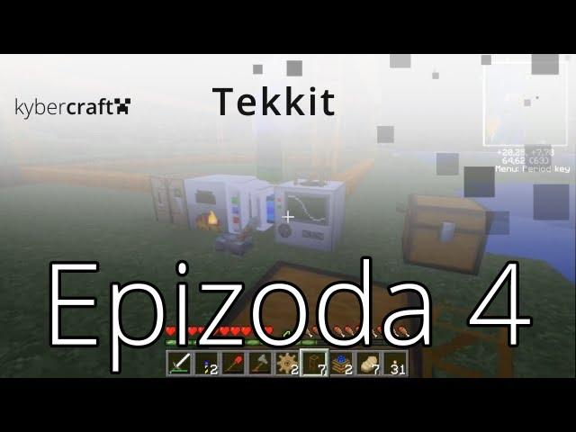 [Kybercraft] Let's Play - Minecraft - Tekkit - 4. Díl (CZ)