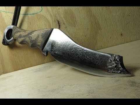 How To Make: A Knife video