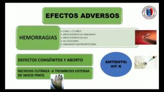 Anticoagulantes orales y nuevos anticoagulantes