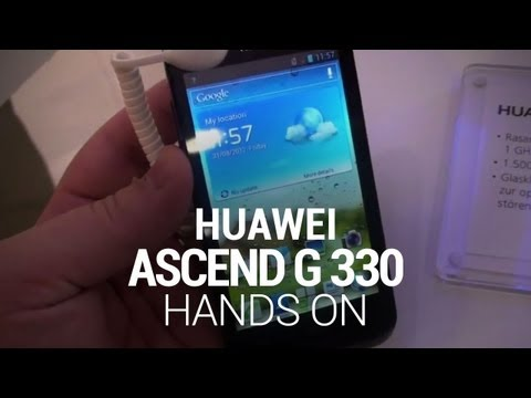 Huawei Ascend G 330 Hands-On