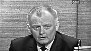 What's My Line? - Walter Cronkite; Art Carney; PANEL: Steve Allen, Anne Douglas (Mar 27, 1966)