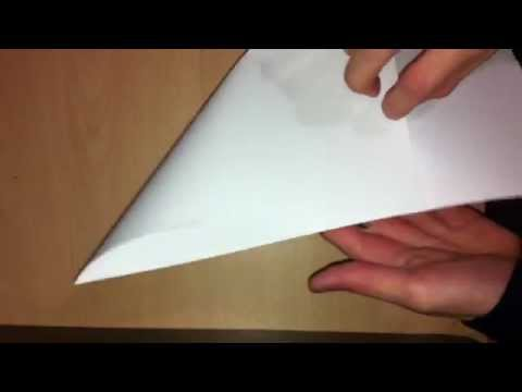 Hacer comecocos de papel - Papiroflexia fácil