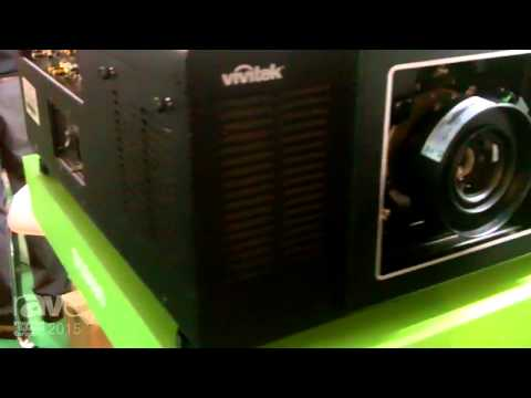 ISE 2015: Vivitek Introduces the DU9000 Projector with 12,000 Lumens