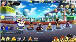 Dragon Ball Z : Fury Fighter Awaken ( EN ) - New Characters Unlock - Anime Mobile Game Free