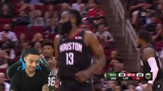 James Harden 42 Pts! FlightReacts Boston Celtics vs Houston Rockets - Full Game Highlights!