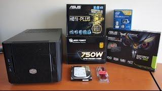 Intel i5 4460 mini ITX cube pc build