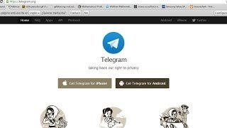Descargar e Instalar Telegram para pc