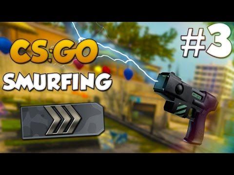 CS:GO SMURFING #3 - ZEUS FUN!