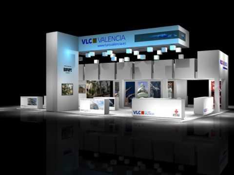 Dise o stand para la feria fitur ayuntamiento de valencia for Disenos de stand para exposiciones