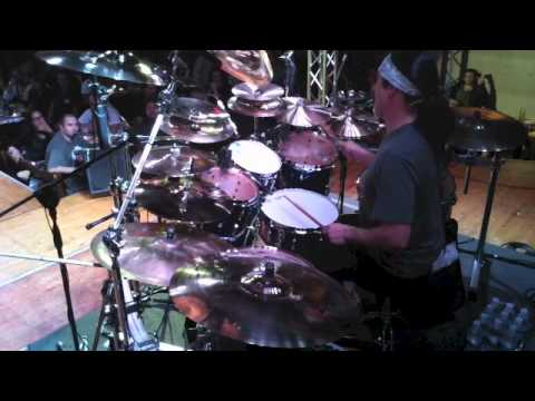 Mike Mangini Clinic Drum Solo from Florence Italy