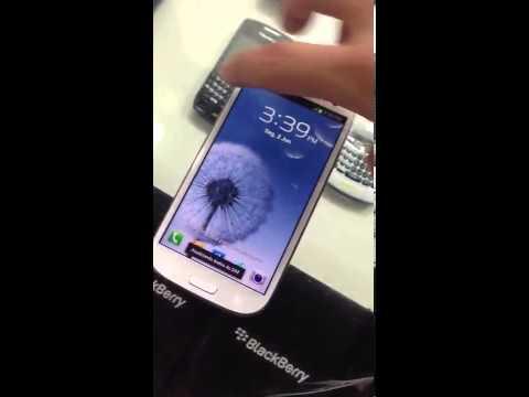 Samsung Galaxy S3 ''Atualizando dados do sim'' Bug de tela