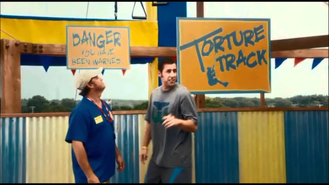 Grown Ups Water Park Scene - YouTube