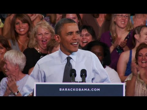 President Obama's Full Remarks in Denver, Colorado - with Sandra Fluke Introduction