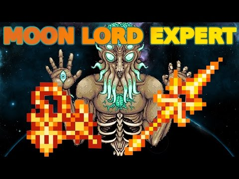 MOON LORD EXPERT MODE - Terraria 1.3.0.4 Poradnik!