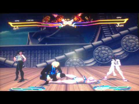 Street Fighter X Tekken Mods Pc Sanji One Piece  X Gril video