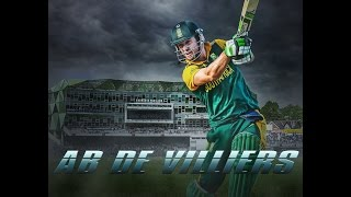 Photoshop Tutorial | Sports Wallpaper | Photo Manipulation || AB De Villiers