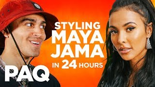 Styling MAYA JAMA in 24 HOURS!