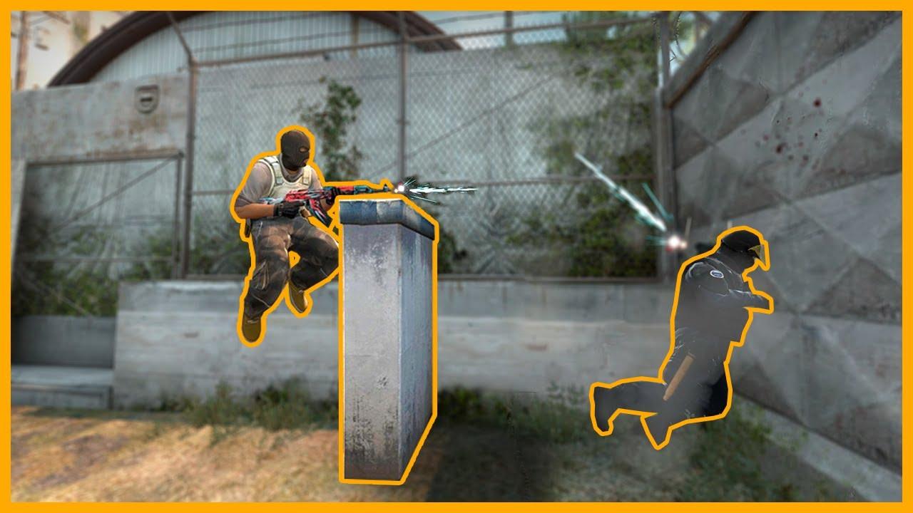 Как в кс го сделать прыжок на колёсико 170