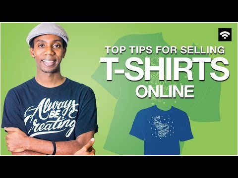 Advice for Selling T-Shirts Online [Ecommerce]