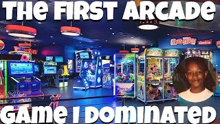 THE FIRST ARCADE GAME I COMPLETED