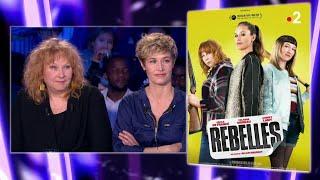 Cécile de France et Yolande Moreau - 9 mars 2019 On n'est pas couché #ONPC
